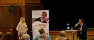Oberbürgermeister Geisel stellt sich den Fragen der Rather und Ratherinnen